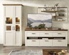 Obývací a jídelní nábytek TOULON_ sestava 40 94 UV 86_ čelní pohled_ obr. 05