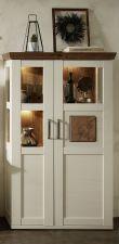 Obývací a jídelní nábytek TOULON_ vitrina 40 94 UV 06_ čelní pohled_ obr. 14