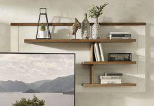 Obývací a jídelní nábytek TOULON_ závěsný policový panel 40 94 UV 41_ čelní pohled_ obr. 20