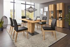 Obývací a jídelní nábytek VALERO_ jídelna_ vitrina 169300 + vitrina 169301 + jídelní stůl 169461 _ obr. 4