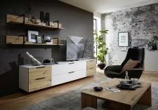 Obývací nábytek MOONLIGHT wh_alternativní TV sestava C_obr. 11