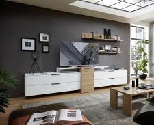 Obývací nábytek MOONLIGHT wh_alternativní TV sestava D_obr. 12