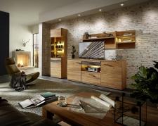 Obývací nábytek CROWN_sestava 45 18 HH 84_včetně volitelného LED osvětlení_obr. 3