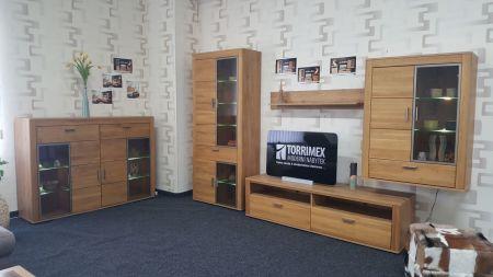 Obývací stěna OPAL 42 02 HH 81 + highboard 42 02 HH 22_ včetně LED osvětlení_ foto prodejna _obr. 2