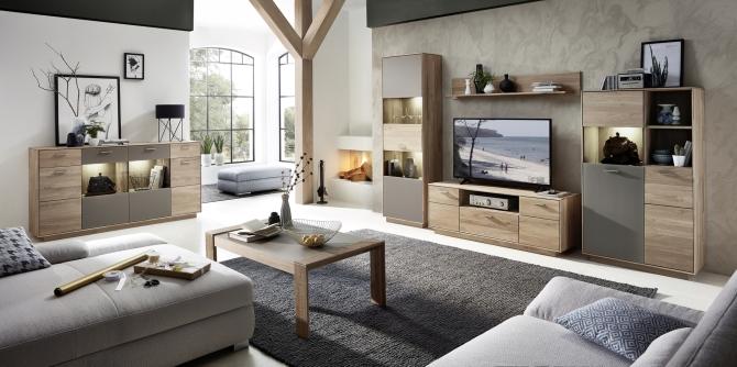 Obývací sestava + sideboard + konf. stolek LAVA