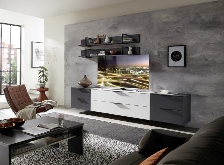 Obývací nábytek MOONLIGHT wg_alternativní TV sestava C_variantní umístění TV_obr. 13