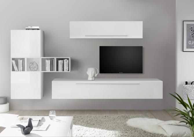 Obývací sestavy SPACE white -color