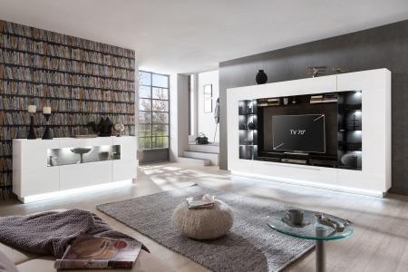 Obývací stěna /TV center/ DALTON + sideboard_možnost volitelného LED osvětlení_obr. 1