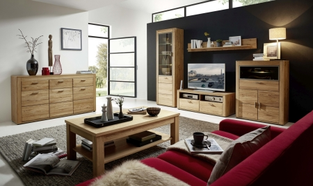 Obývací stěna OPAL  42 02 HH 80 + sideboard 42 02 HH 20