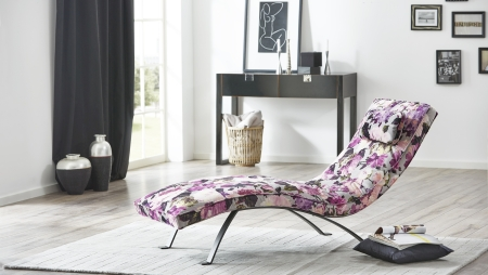 Relaxační lehátko ORSI_dekorativní látka