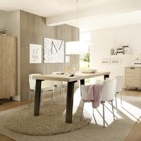 Jídelní a obývací sestavy PALMA dub