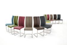 Jídelní židle PAMPA_barevné varianty_mix provedení_obr. 11