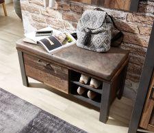 Předsíňový nábytek CARTAGO_ detail lavice_ obr. 6