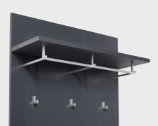 Šatní panel CONARO 30 A9 99 32_šikmý pohled_detail_obr. 22
