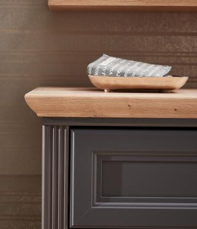 Předsíňový nábytek JASPER graphit_detail provedení horní desky_obr. 8