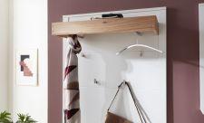 Předsíňový nábytek NIZZA_ detail závěsného panelu na šaty_ obr. 8