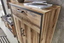 Předsíňový nábytek PRISMA_ detail přední plochy_ obr. 8