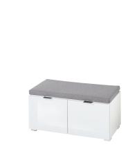 Předsíňový nábytek QUICK_ sedací lavice 30 A8 WW 60_ šikmý pohled_ obr. 16