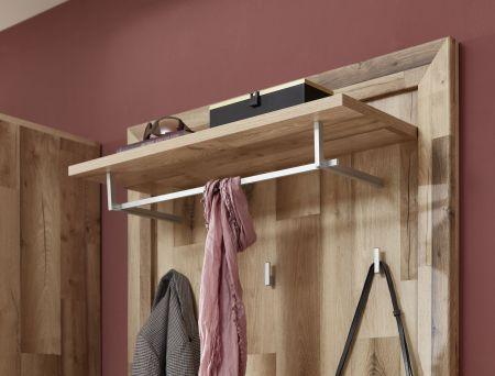 Předsíňový nábytek TESSA_ detail závěsného šatního panelu _obr. 4