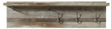 Předsíňový nábytek PROVENCE_šatní panel typ 40_obr. 26