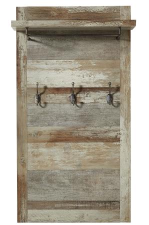 Předsíňový nábytek PROVENCE_šatní panel typ 41_obr. 27