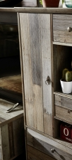 Obývací a jídelní nábytek PROVENCE_detail přední plochy_obr. 9