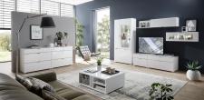 Obývací nábytek QUICK_sestava 19 01 WW 80 + 2x sideboard 20 + konf. stůl 29 01 WW 02_obr. 1