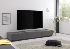 TV-element REX_(sokl)_anthrazit_3 zásuvky