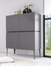 Highboard REX_anthrazit-wenge_4  dvířka