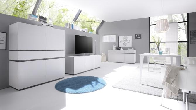Obývací sestavy REX white