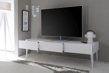 TV-element REX_bílý_3 zásuvky_otevřený