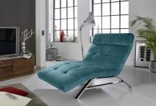 Relaxační lehátko RIMOLA s motorovým polohováním_v látce Square petrol_obr. 5