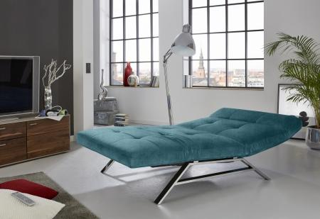 Relaxační lehátko RIMOLA s motorovým polohováním_v látce Square petrol_obr. 6