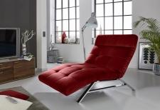 Relaxační lehátko RIMOLA s motorovým polohováním_v látce Velvet red_obr. 9