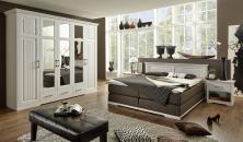 Ložnicový nábytek ROMA_šatní skříň + postel Boxspring + 2x noční stolek_obr. 1