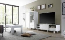 Obývací nábytek TORINO_Multikomoda_TV element_konf. stolek, umělohmotné nohy_obr. 40