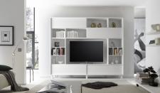 Obývací / media stěna TORINO_čelní pohled_obr. 44