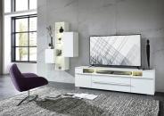 TV-lowboard TREND 10 D2 WW 30 + závěsné elementy 10 + 11 + 12_obr. 1