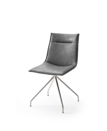 Jídelní židle VERONA_typ sedáku A 1 šedá