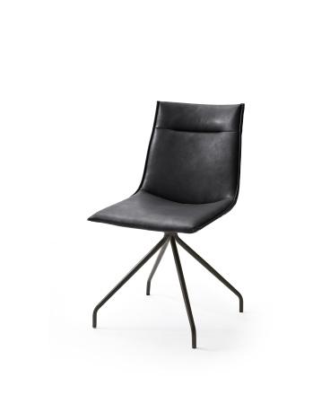 Jídelní židle VERONA_typ sedáku A 2 černá