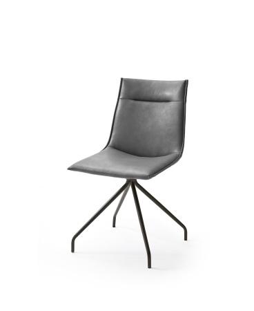 Jídelní židle VERONA_typ sedáku A 2 šedá