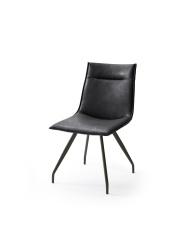Jídelní židle VERONA_typ sedáku A 6 černá