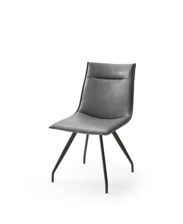 Jídelní židle VERONA_typ sedáku A 6 šedá