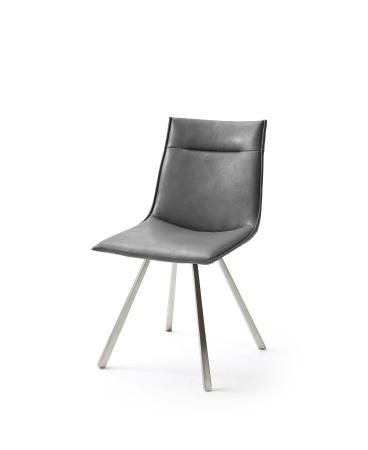 Jídelní židle VERONA_typ sedáku A 7 šedá