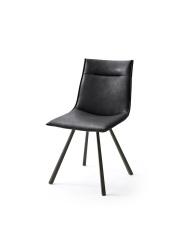 Jídelní židle VERONA_typ sedáku A 8 černá