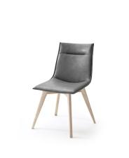 Jídelní židle VERONA_typ sedáku A 9 šedá