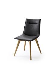 Jídelní židle VERONA_typ sedáku A 10 černá