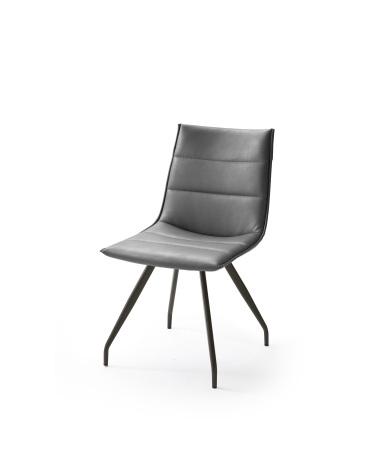 Jídelní židle VERONA_typ sedáku B 6 šedá