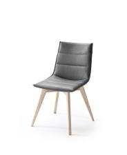 Jídelní židle VERONA_typ sedáku B 9 šedá