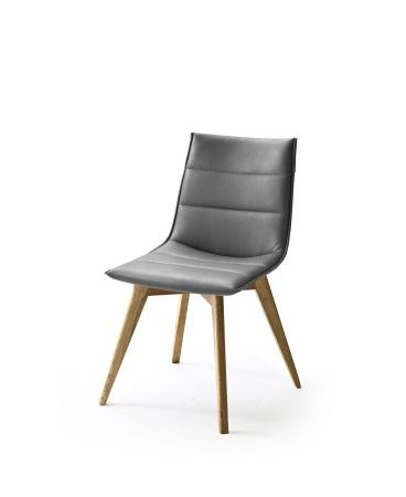 Jídelní židle VERONA_typ sedáku B 10 šedá